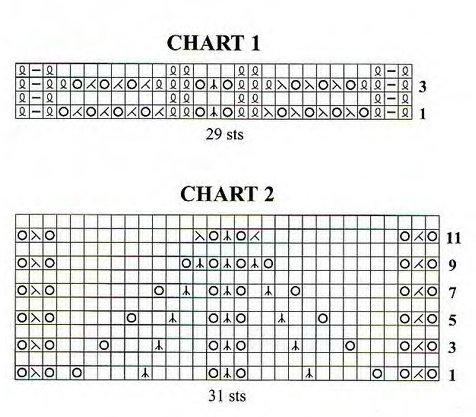 схемы для вязания носков