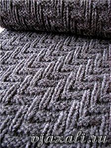 узор для вязания шарфа - узоры.