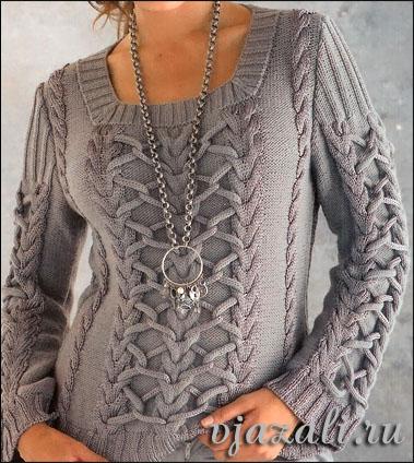 вязание спицами для женщин пальто схемы